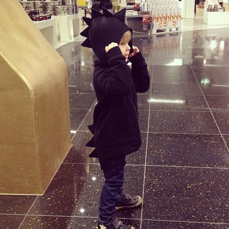 Ephex jongens hoodies punk baby kid sweatshirt cartoon dinosaurus - Babykleding - Foto 4