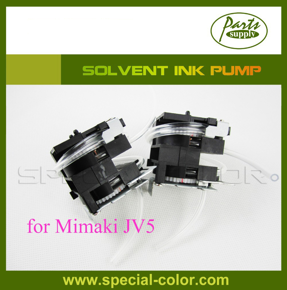 Best Quality DX5 Solvent Ink Pump Mimaki JV5 Printer Pump 2piece lot mimaki jv33 jv22 jv5 ts5 ts3 mutoh roland ink pump solvent inkjet printer machine ink pump spare part