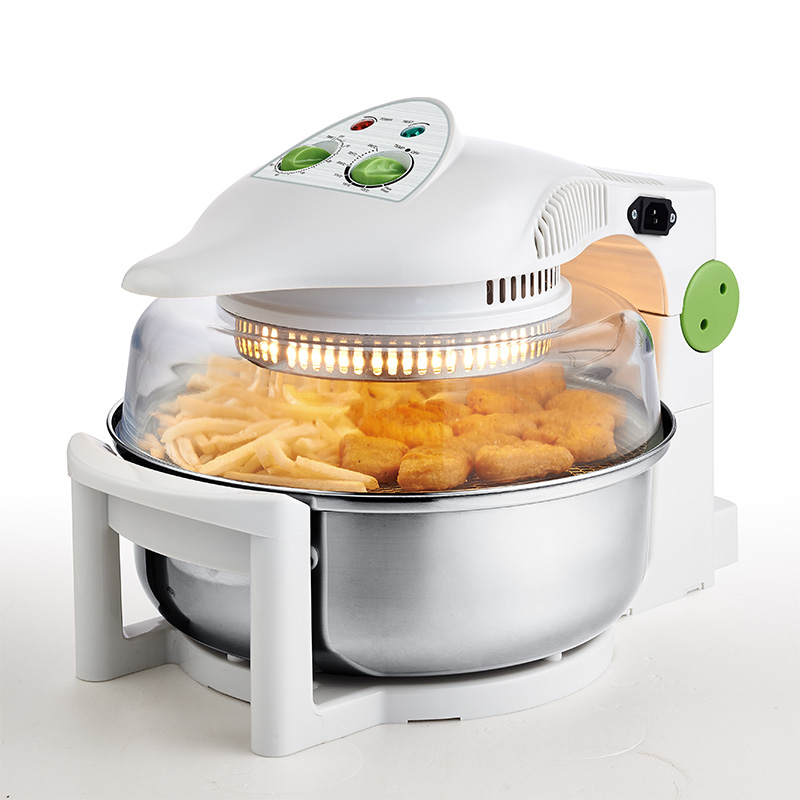 WUXEY Electric Oil-free Deep Air Fryer 10L High Capacity Household White Fryer Multifunctional Frying Pan Fries Machine air fryer without large capacity electric frying pan frying pan machine intelligent deep electric fryer