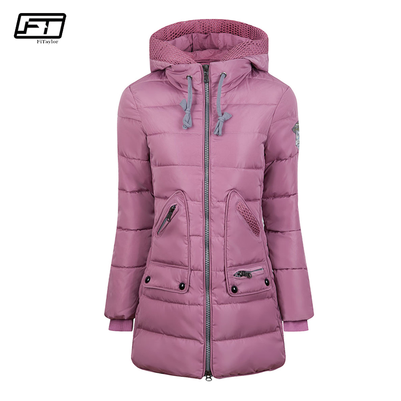 Fitaylor Plus Size 6xl 7xl Winter Jacket Women Thick Cotton Padedd Long Paragraph Female Quilted Coats Hooded Warm Parka Mujer