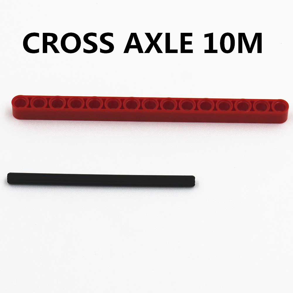 Self-Locking Bricks Free Creation Of Toy Technic CROSS AXLE 10M 10Pcs Compatible With Lego 373726