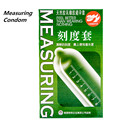 Popular Measuring Condom For Men Delay Emulsion Delay Sexy Condom Measure Length Sex Condom Adult Sex Article Special Condoms
