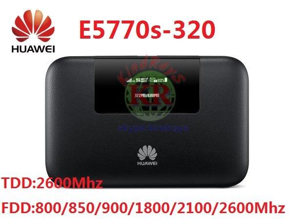 Sbloccato huawei e5770 router 4g rj45 4g wifi router ethernet lte router rj45 banca di potere 5200 mah Mobile di WiFi pro PK E5771 E5885