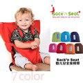 Comedor de bebé asiento Infantil Portátil de alimentación Segura de Asientos de Seguridad Infantiles comer silla Portátil Silla auxiliar Arnés cinturón de silla de Bebé