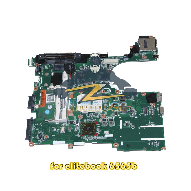 665718-001 for hp probook 6565B laptop motherboard socket fs1 DDR3 613211 001 main board for hp probook 4525s laptop motherboard socket s1 ddr3 with free cpu