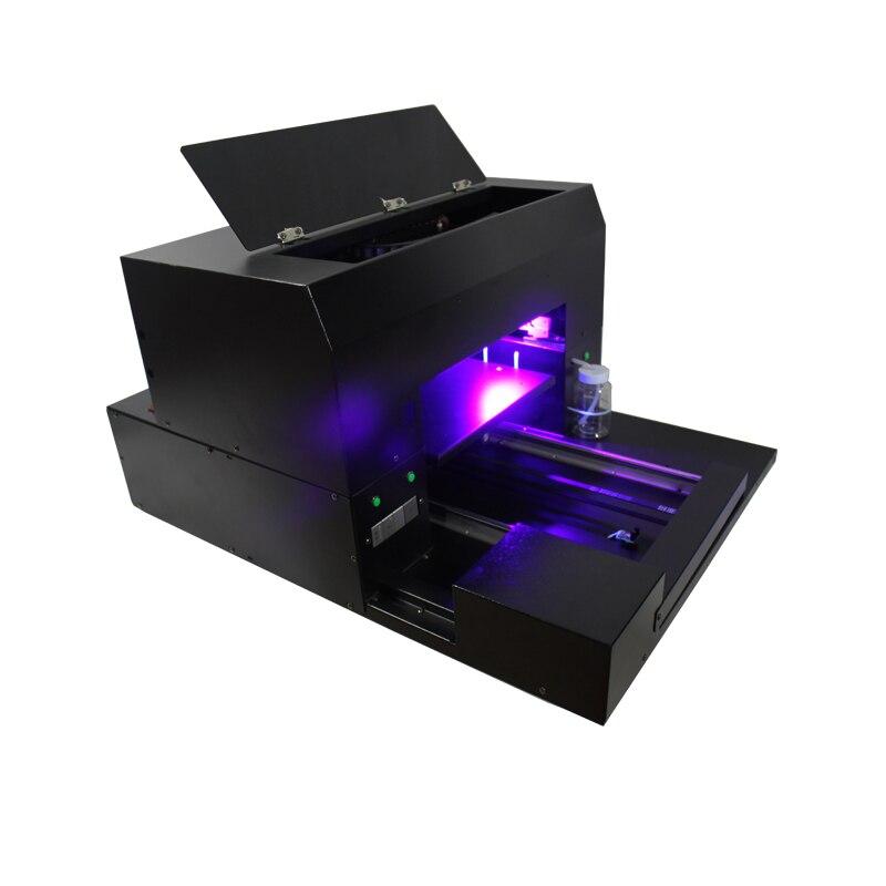 A3 taille UV lampe à led imprimante à plat pour stylo, coque de téléphone, verre, métal, céramique etc impression - 2