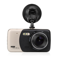4 Mini Car DVR Dual Lens Video Recorder Parking Car Camera Night Vision Auto Black Box