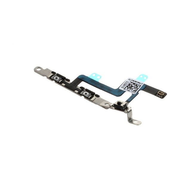 Volume Button Flex Cable With Metal Plate for iPhone 6