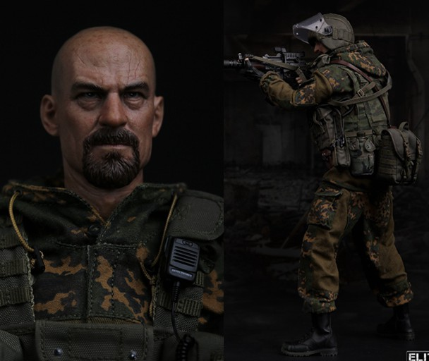 """ФОТО 1/6 scale military figure doll  russian special forces spetsnaz in dagestan 12"""" action figure doll collectible figure toy model"""