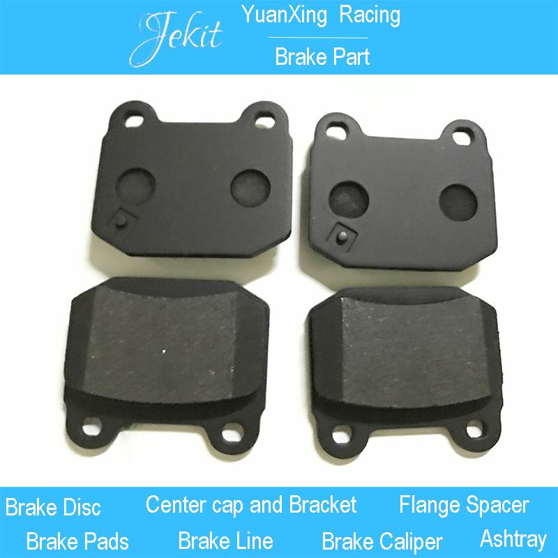 US $99 4 |Jekit High performance Brake pads for JK7700 Ap Racing brake  caliper with two pots for Renault Clio rim wheel R18''-in Caliper & Parts  from