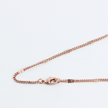 """Jewelry Link 16-40"""" Fashion 9 Colors 2mm/3mm Curb+Metal Sheet Necklace Chains Copper Metal With Lobster Clasp Jump Circle"""