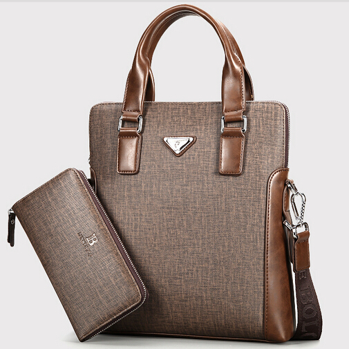 New luxury men designer handbags high quality brand leather portfolio pasta executiva  male business bag shoulder bags B00024