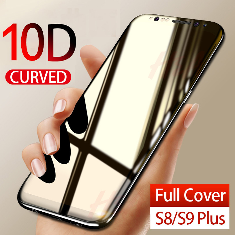 H&A 10D Tempered Glass For Samsung Galaxy S9 S8 Plus Note 8 9 Screen Protector Film For S8Plus S9Plus Protective Glass