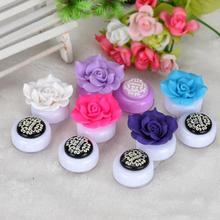 Beauty Girl Hot New Flower Cute Lovely Travel Portable Contact Lens Lenses Container Case Holder Box Nov 2