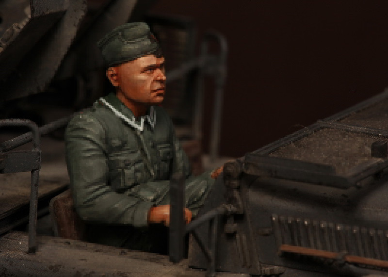 pre order-Resin toys 3538 German antiaircraft feldwebel Free shipping Quality products pre order resin toys lf0118 kangaroo free shipping