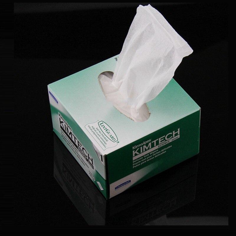 280pcs/Box Kimwipes Brand Fiber Cleaning Paper Optical Fiber Cleaning Paper Kimwipes For FTTH Wipe Tools