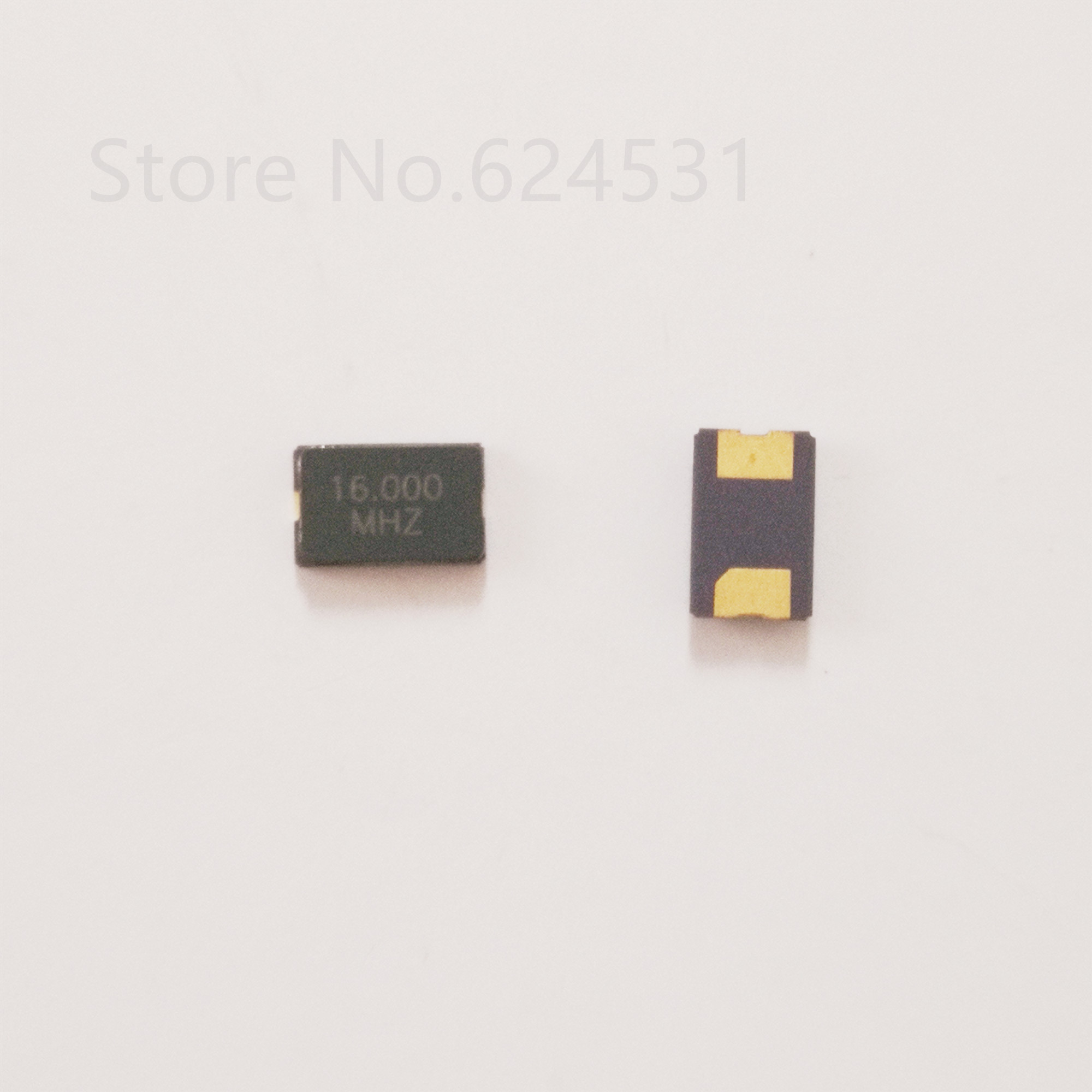 10pcs Patch Passive Crystal Oscillator 5032 16MHZ 2P 5*3.2 16.000MHZ Two Feet 16M