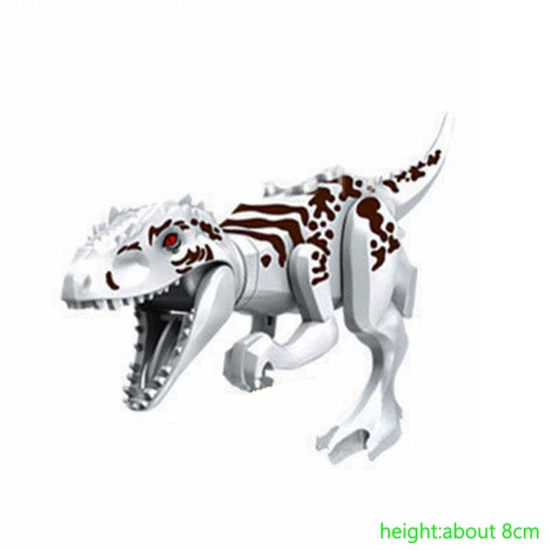 Enthousiaste Indominus Rex Petites Poupées Vente Unique Super Tyrannosaure Minuscules Modèles Et Blocs De Construction Jouets Pour Enfants Legoing Dinosaures Emballage De Marque NomméE