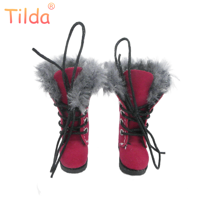 Tilda 1/6 Doll Boots Shoes For Blythe BJD Doll,3.2cm Mini Winter Style Leather Shoes for Blyth Pullip Accessories for Dolls Toy edmund burke the works of the right honourable edmund burke vol 09 of 12