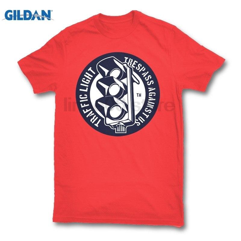 GILDAN Traffic Light hot men t shirt