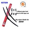 Car windshield wiper blade para bmw 1 3 4 5 7 series, f20, e46, e90, f30, f31, f01, e60, e61, e61 e84 x1, x3 e83, f25 x3, x5 e53, e70 x5, x5 f15, z4
