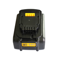 DCB200 20V 4.0Ah Li ion Battery For Dewalt 18V 4000mAh DCB200 DCB201 DCB203 DCB204 Electrical Drill Battery
