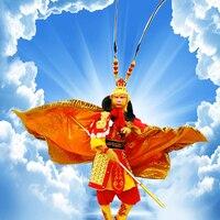 4 вида стилей высокого качества солнце Укун костюм для мужчин обезьяна костюм Человек Укун Король обезьян Хэллоуин косплей Карнавальная од
