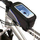 Bike Bag Bicycle Phone Bag Frame Pannier Front Tube Bag Pouch Holder Universal For iPhone Samsung HTC LG HUAWEI All Smart Phones