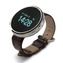 2015 neue Bluetooth Smart Watch D360 Runde Armbanduhr Sync Schrittzähler Schlaf Musik-player Smartwatch für Androd Smartphone