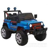 Шаблон Детей электромобиль четыре колеса внедорожник люди могут четыре диск качели удаленного Управление детские игрушки автомобиля детс