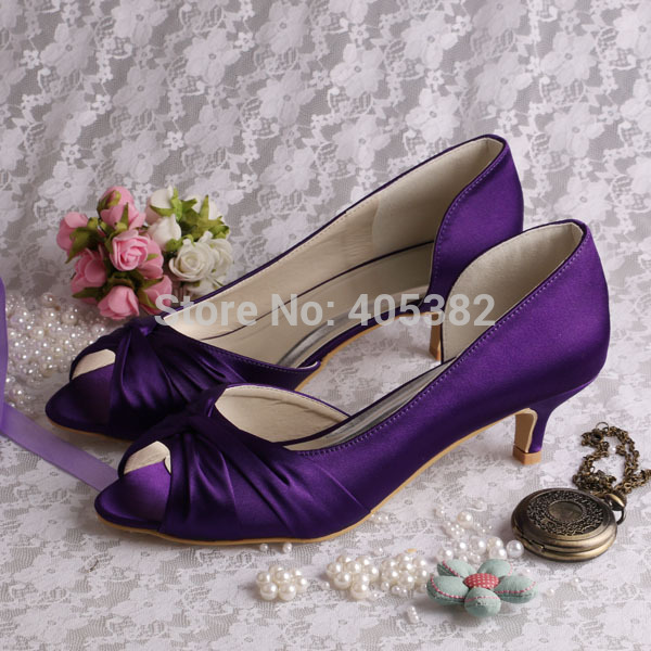 Aliexpress.com : Buy Wedopus MW632 Hot Selling Women Shoes Purple ...