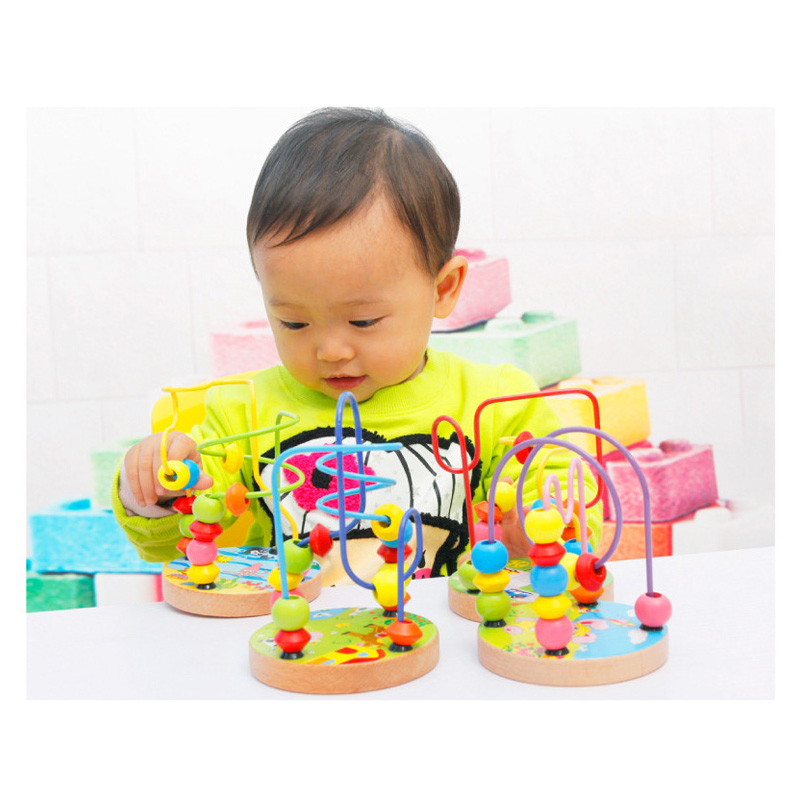מוצר - Classic math learning cheap children baby wooden ...