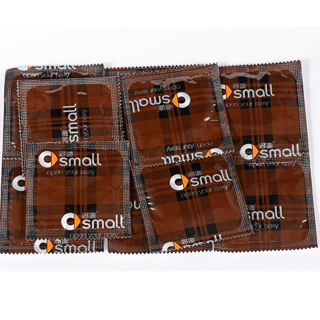 MingLiu Small Condoms For Men 20pcs/Lot Ultra-Thin Width 46mm penis sleeve Sex Products Tight Condones Sex Toys
