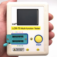 Free Shipping LCR T5 Graphical Multi Function Tester Capacitor Inductance Resistor SCR Transistor Diode Mos
