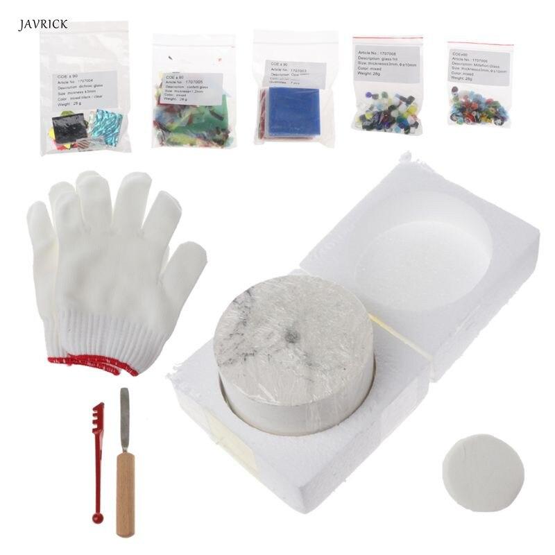 10 pièces Kit de four à micro-ondes professionnel pendentif de verre à faire soi-même pour outils de fabrication de bijoux nouveau