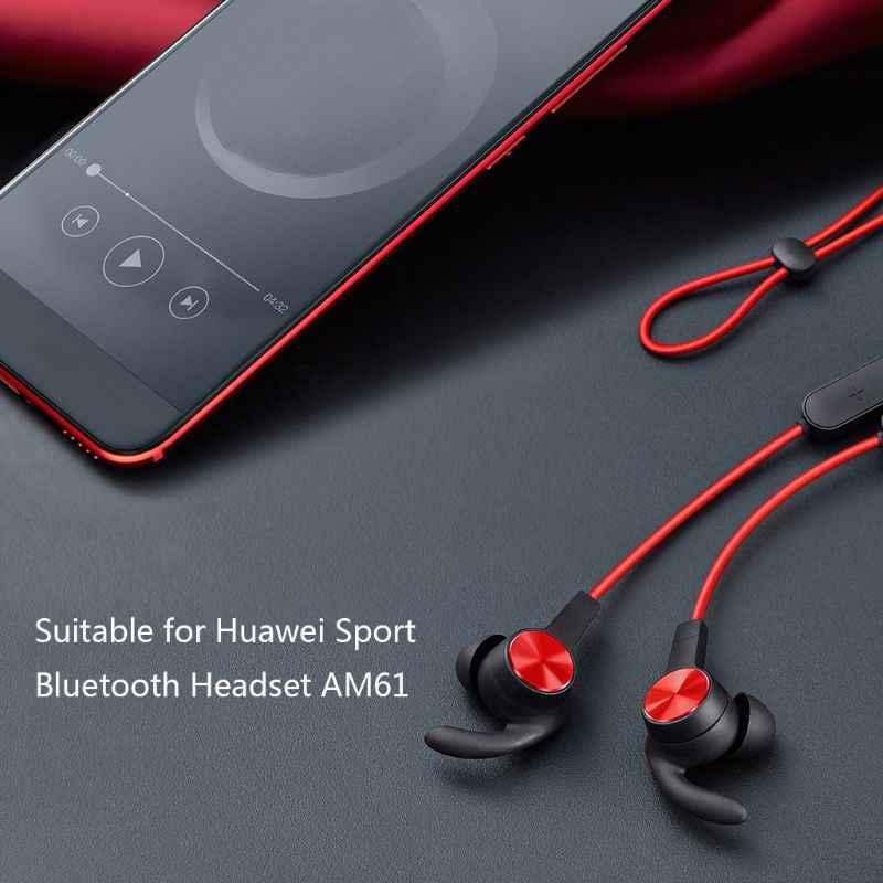 3Pairs S/M/L Silikon Earbuds Tipps Ohr Haken Kopfhörer Fall In Ohr Weiche Silikon Abdeckung für huawei Sport Bluetooth Headset AM61