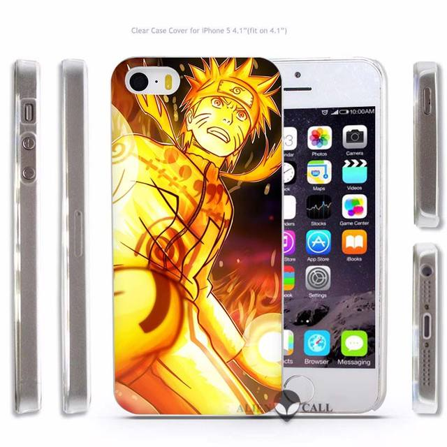 Naruto Hard Transparent Phone Case For iPhone