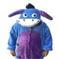 Niños de la Historieta Unisex Franela Con Capucha Pijamas Traje Cosplay Niños Niñas Animal Bodies Pijamas Para Niños