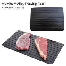 Fast Defrosting Tray Thaw Frozen Food Meat Fruit Quick Defrosting Plate Board Defrost Home Kitchen Gadget Tool - DISCOUNT ITEM  49% OFF All Category