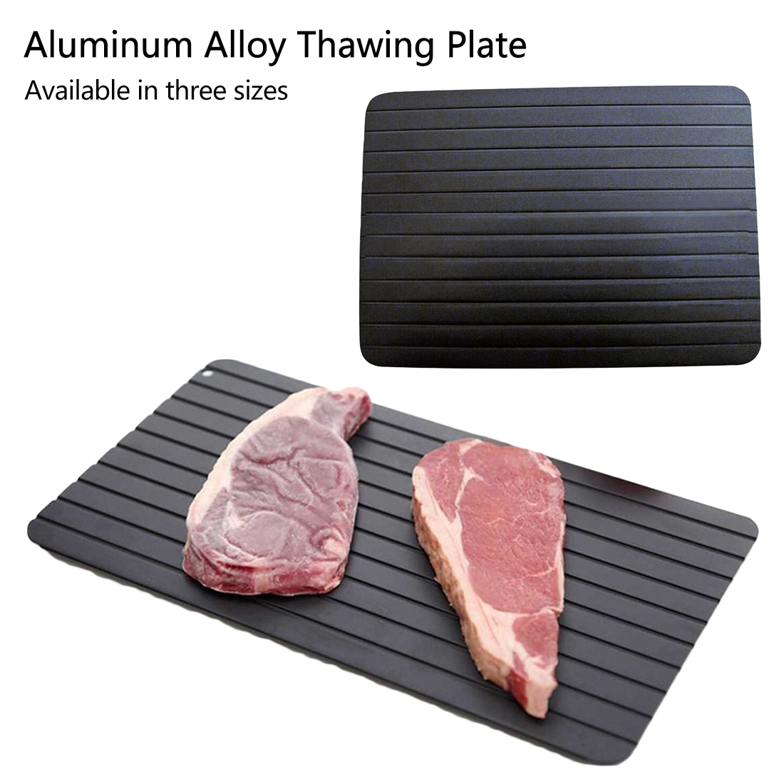 Fast Defrosting Tray Thaw Frozen Food Meat Fruit Quick Defrosting Plate Board Defrost Home Kitchen Gadget Tool image