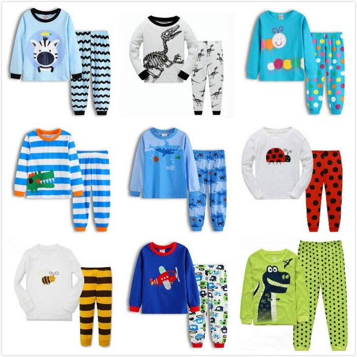 2 Stücke Kinder Junge Mädchen Weihnachten Pyjama Set Langarm Tops + Freizeit Hose Nachtwäsche Kleinkind Baby Jungen Mädchen Weihnachten Kleidung 2-7y Im Sommer KüHl Und Im Winter Warm