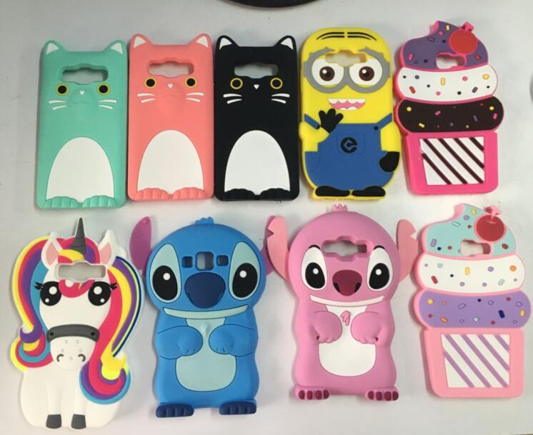 online store 25ee6 96812 US $4.48  AIPUWEI For Samsung Galaxy A5 2016 Case A510 3D unicorn cat Soft  Silicone Phone Cover For Samsung A5 2015 A500 coque fundas cat -in Fitted  ...