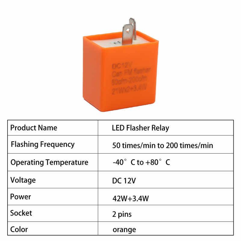 12 В мотоциклы Светодиодная лампа указателя поворота импульсное реле скорость сигнала поворота для Харлей FLHR Flht Flhtcu Flh Flstc Flstf Flstsb