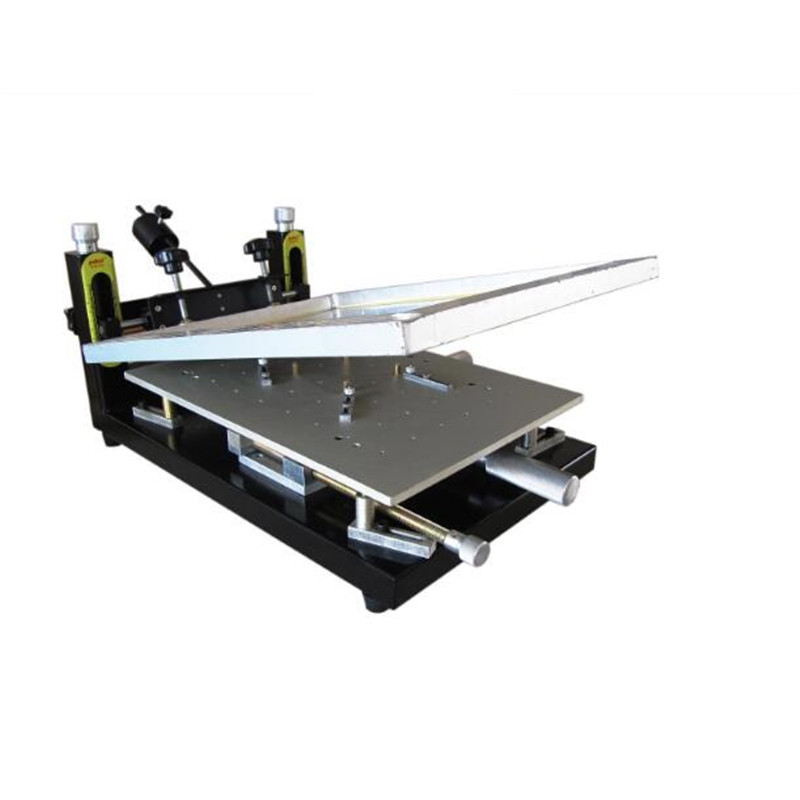 PUHUI di Alta Precisione Pasta Saldante Stampante PCB bordo di saldatura 300x400mm Stampante Stencil Manuale di Seta Macchina da Stampa