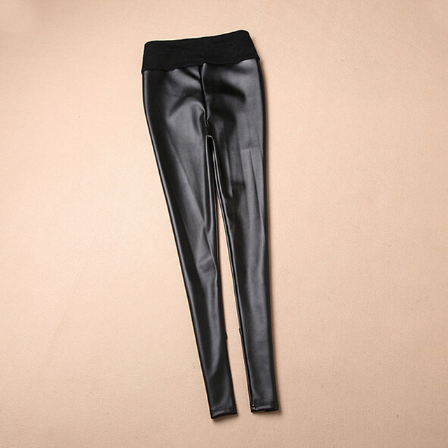 Fashion Maternity Leggings Clothing for Pregnant Winter Spring Calca Maternidade Leggings Gestante Faux Leather Gestante Thick