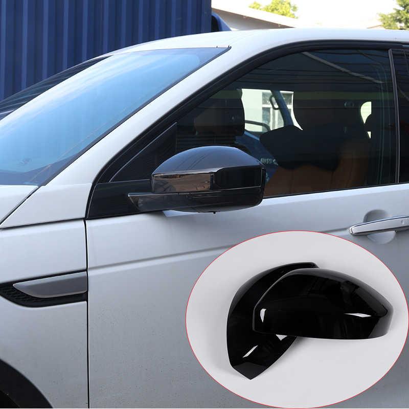 Для Land Rover Discovery Спорт 2015 2016 2017 ABS Chrome сторона Зеркала заднего вида отделкой крышки для Range Rover велярный Запчасти 2 шт.