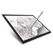 A3 светодиодный светильник ed для рисования, ультра-светильник, коробка для рисования, планшет для трассировки, блокнот для эскизов, пустой холст для рисования акварелью, акриловый
