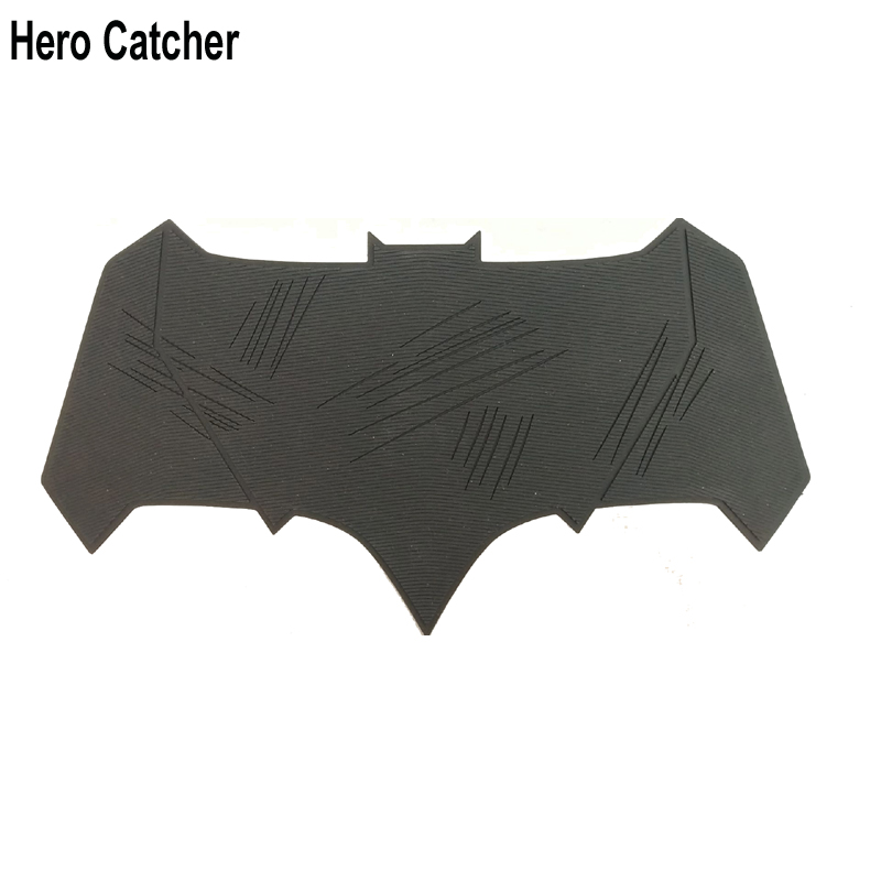 Hero Catcher Batman Chest Bat Unbreakable Batman Logo Soft Rubber Bat Man Badge