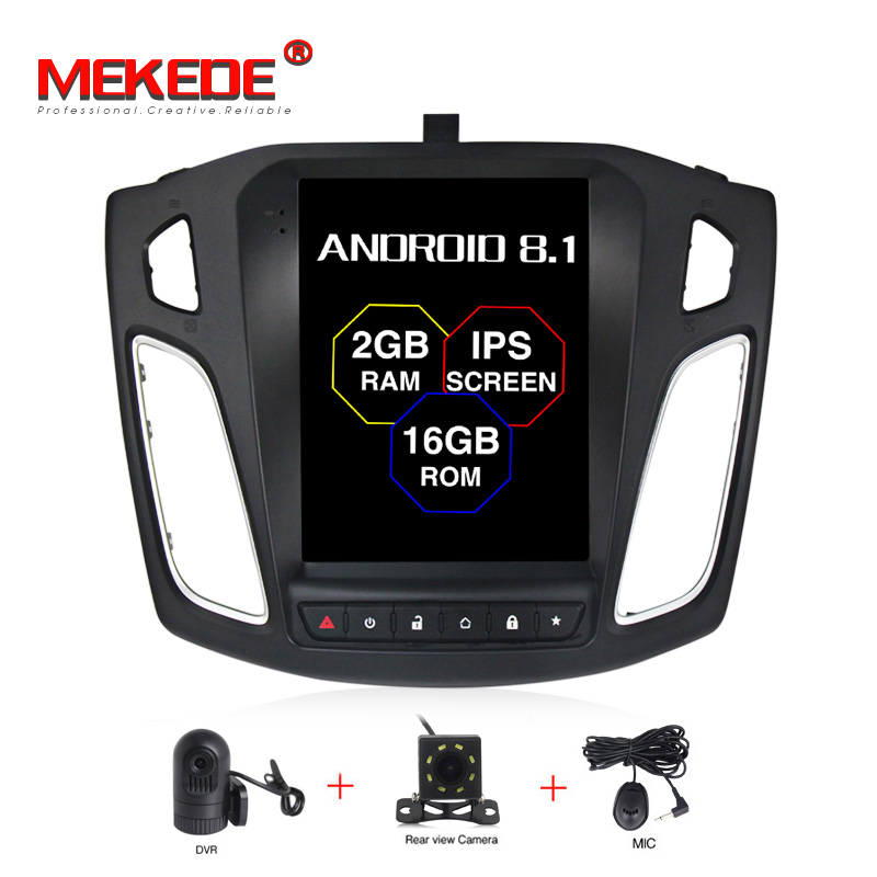 MEKEDE Android 7.1 Big Screen Car DVD Player GPS Navigation For Ford Focus 2012-2017 Auto navi stereo headunit multimediaMEKEDE Android 7.1 Big Screen Car DVD Player GPS Navigation For Ford Focus 2012-2017 Auto navi stereo headunit multimedia