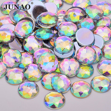 6 8 10 12 20 18 30 36 52mm Round Clear AB Rhinestones Flat Back Acrylic · 2  Colors Available f3e173d0ddc6